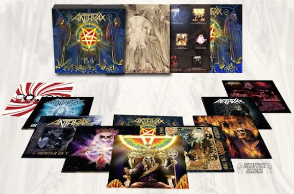 "ANTHRAX - FOR ALL KINGS 7"" BOXSET"