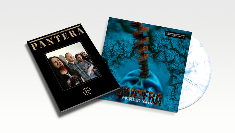 PANTERA 'FAR BEYOND DRIVEN' – LP + BOOK OF PANTERA SPECIAL COLLECTOR'S EDITION BUNDLE