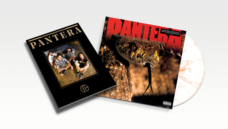 PANTERA 'THE GREAT SOUTHERN TRENDKILL' – LP + BOOK OF PANTERA SPECIAL COLLECTOR'S EDITION BUNDLE