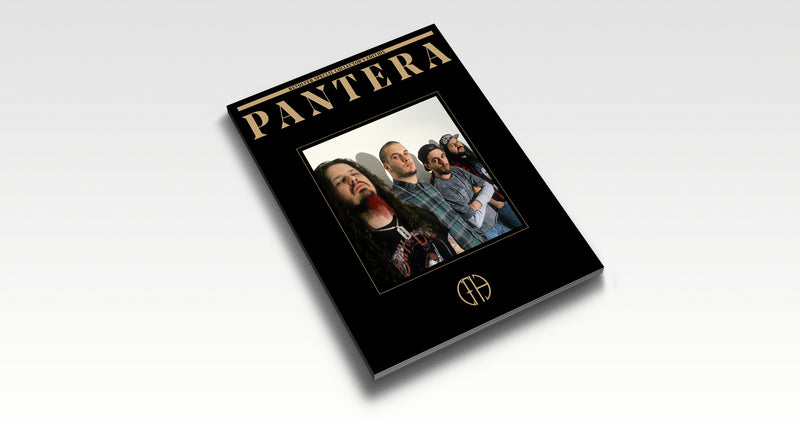 PANTERA – 5 SPECIAL COLLECTOR'S EDITION BOOKS AND SLIPCASE COLLECTOR'S BUNDLE