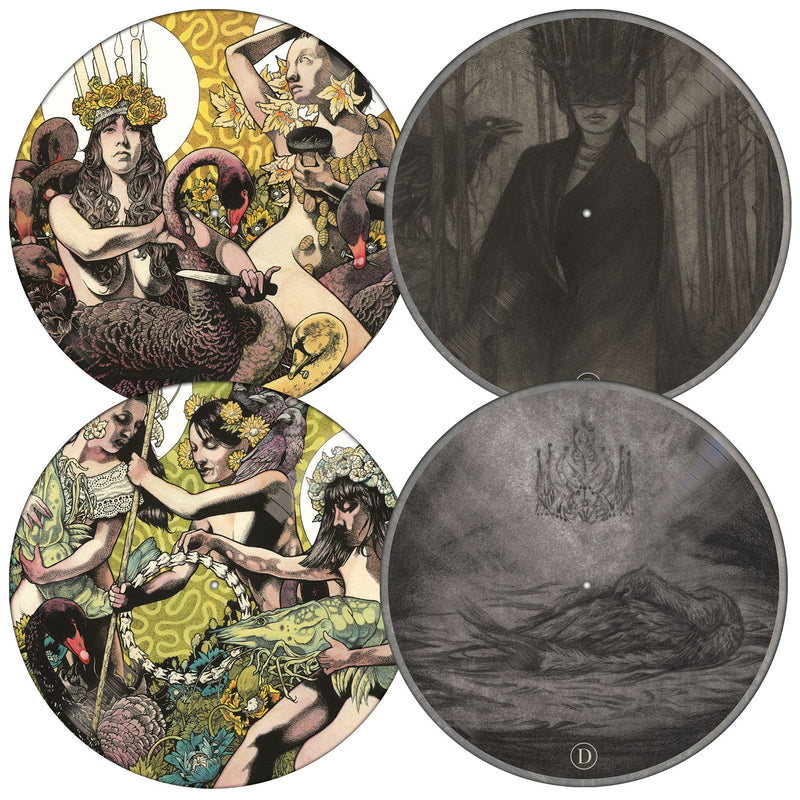SILVER COLLECTOR'S EDITION BARONESS SLIPCASE AND 2LP PICTURE DISC BUNDLE