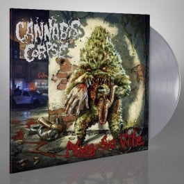 CANNABIS CORPSE 'NUG SO VILE' LIMITED EDITION GRAY LP