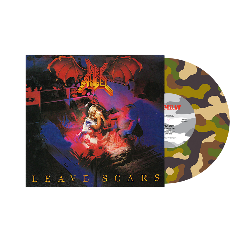 DARK ANGEL 'LEAVE SCARS' LIMITED-EDITION COMBAT CAMO PICTURE DISC— ONLY 200 MADE