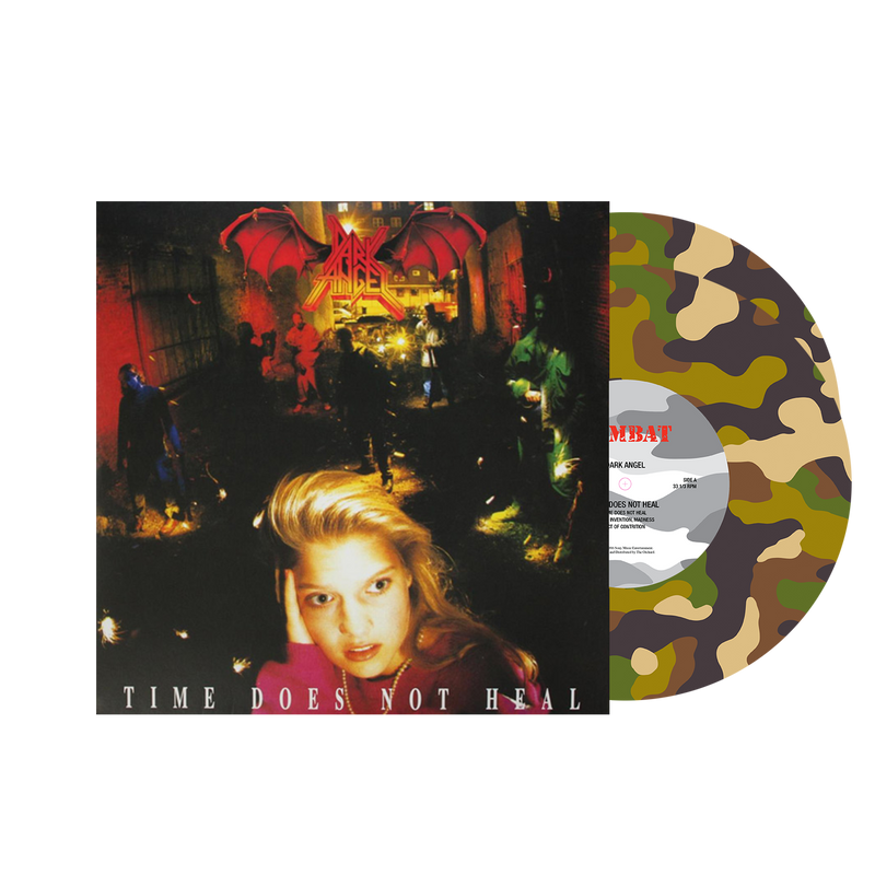 DARK ANGEL 'TIME DOES NOT HEAL' LIMITED-EDITION COMBAT CAMO PICTURE DISC— ONLY 200 MADE