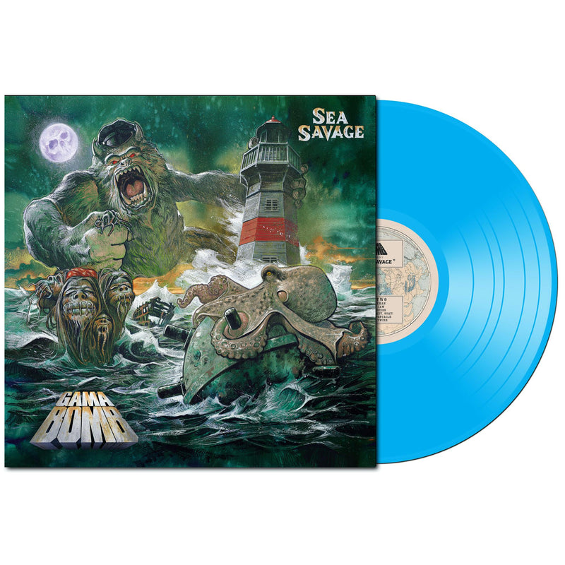 GAMA BOMB 'SEA SAVAGE' LIMITED-EDITION SEA BLUE VINYL