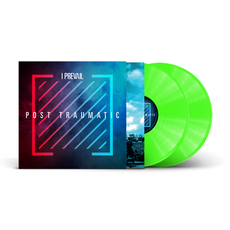 I PREVAIL 'POST TRAUMATIC' LIMITED-EDITION 2LP LIME GREEN— ONLY 250 MADE