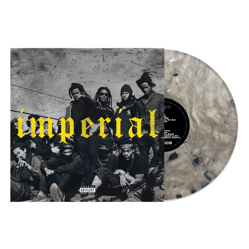DENZEL CURRY 'IMPERIAL' LIMITED-EDITION MARBLED ZENITH GREY LP