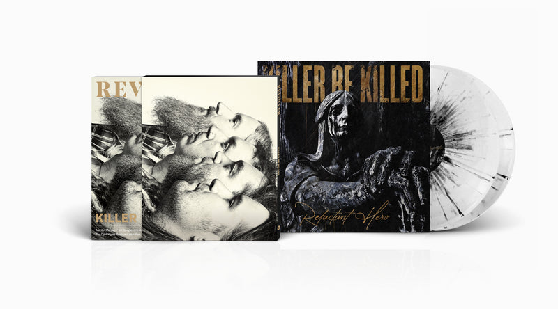 KILLER BE KILLED x REVOLVER LIMITED EDITION 2LP GRAY IN WHITE WITH BLACK SPLATTER COLLABORATION — ONLY 400 MADE
