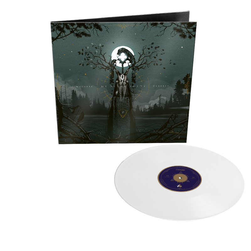 MY DYING BRIDE 'MACABRE CABARET' LIMITED-EDITION WHITE VINYL— ONLY 300 MADE
