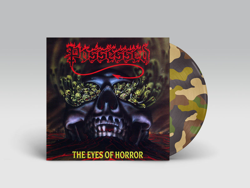 POSSESSED 'EYES OF HORROR' LIMITED-EDITION COMBAT CAMO PICTURE DISC— ONLY 200 MADE