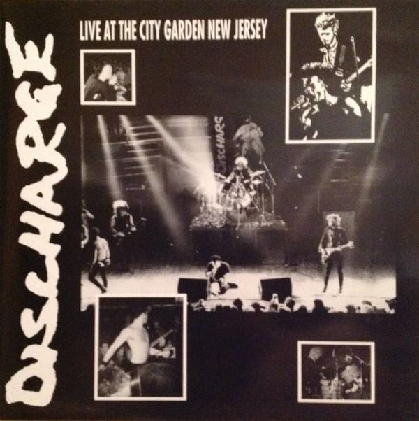 DISCHARGE - LIVE AT CITY GARDEN NEW JERSEY - LP