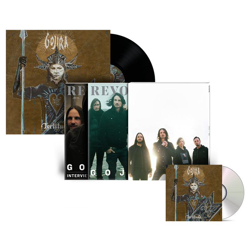 REVOLVER x GOJIRA SPRING 2021 ISSUE SLIPCASE & 'FORTITUDE' LP + CD BUNDLE - ONLY 250 AVAILABLE