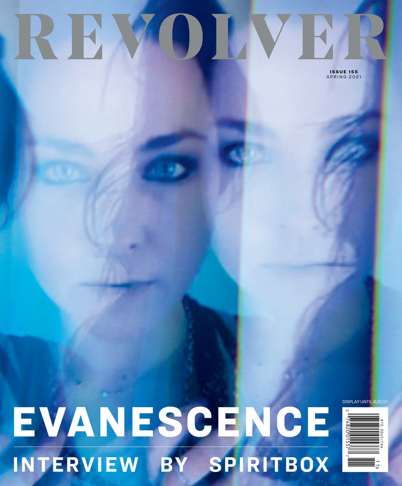 REVOLVER x EVANESCENCE SPRING 2021 ISSUE SLIPCASE & ALTERNATIVE COVER T-SHIRT BUNDLE - ONLY 250 AVAILABLE
