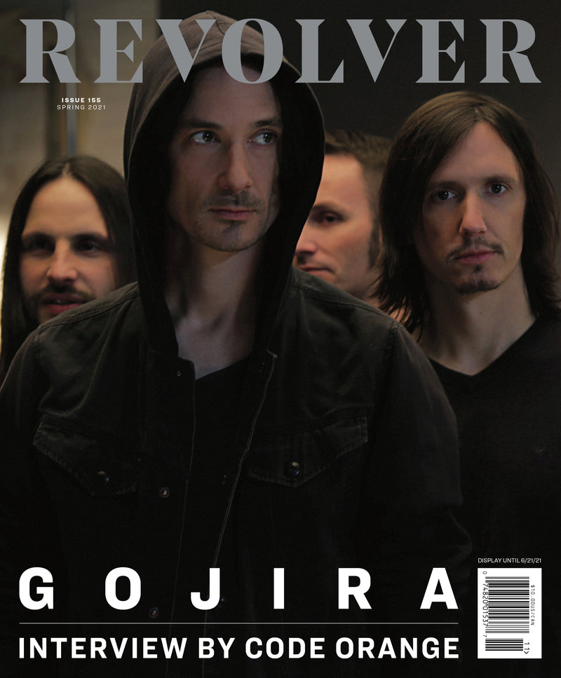 SPRING 2021 ISSUE FEATURING GOJIRA