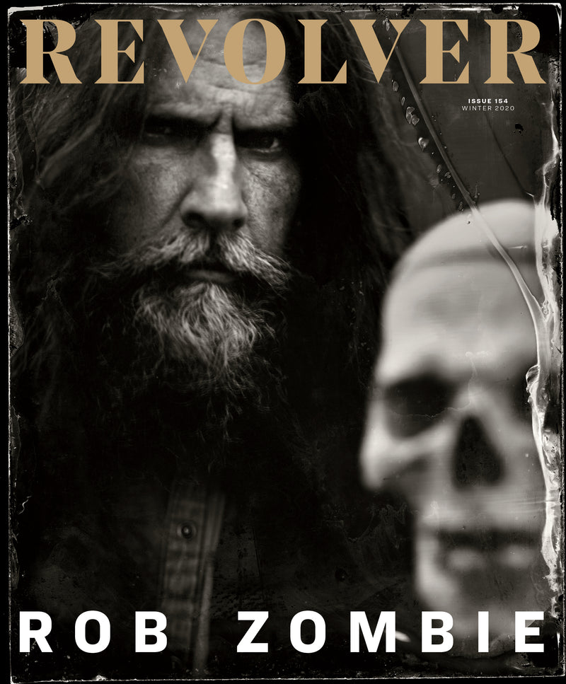 "REVOLVER x ROB ZOMBIE WINTER 2020 ISSUE SLIPCASE & 7"" BUNDLE - ONLY 333 AVAILABLE"