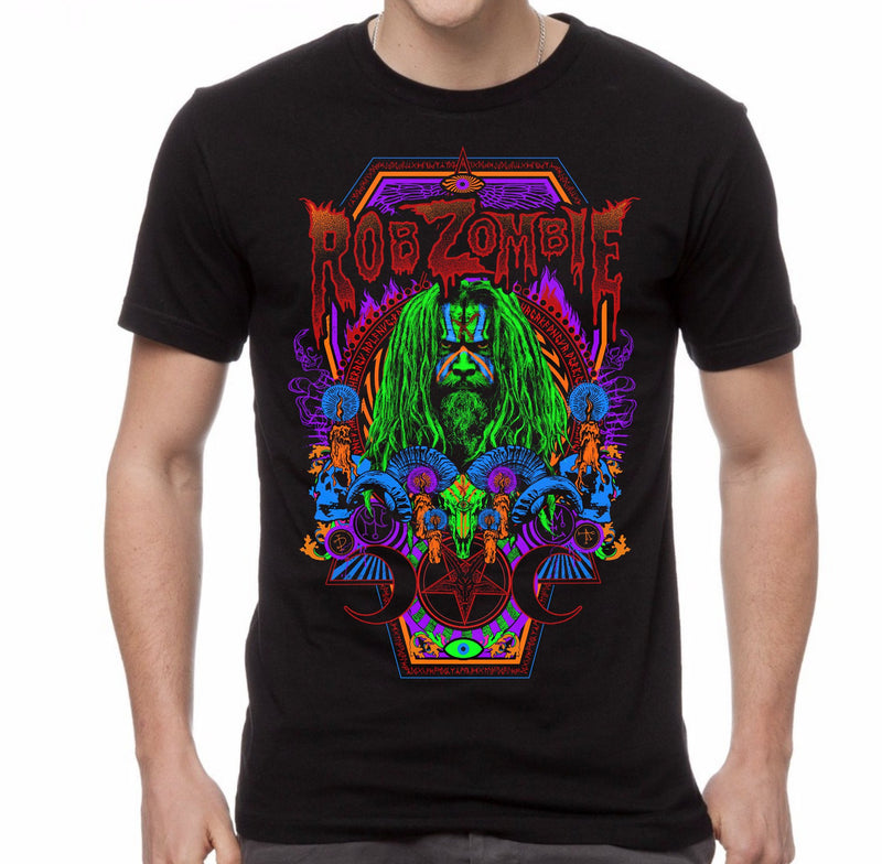 ROB ZOMBIE - NECROCOLOR T-SHIRT