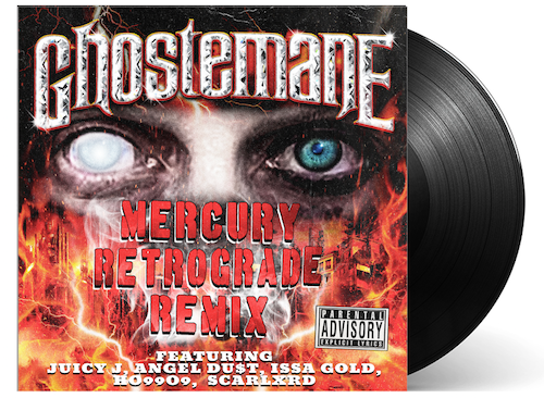 "GHOSTEMANE 'MERCURY RETROGRADE REMIX' 12"" — ONLY 600 MADE"