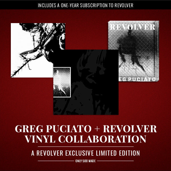 GREG PUCIATO + REVOLVER VINYL COLLABORATION — ONLY 500 MADE