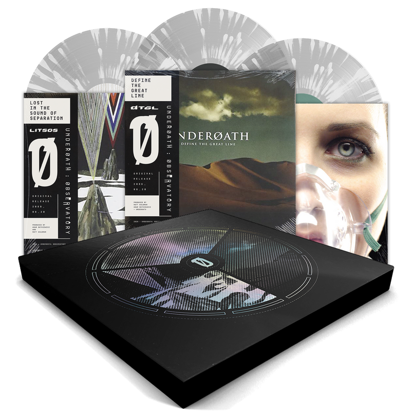 UNDEROATH OBSERVATORY BOX SET BUNDLE — ONLY 500 MADE