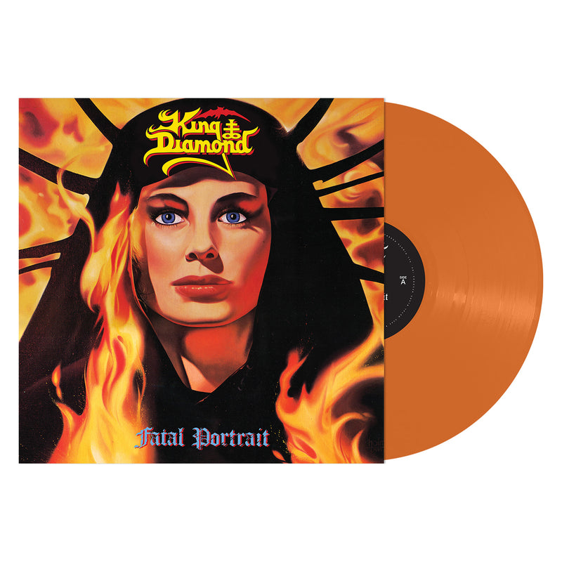KING DIAMOND 'FATAL PORTRAIT' TANGERINE LP