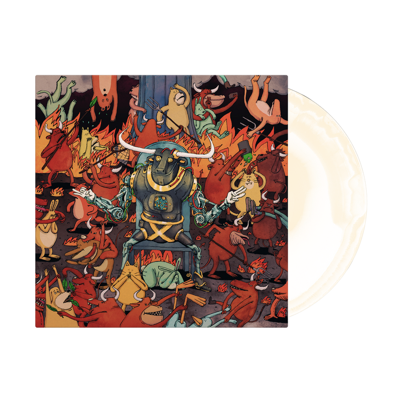 DANCE GAVIN DANCE 'AFTERBURNER' LIMITED-EDITION WHITE & BONE VINYL— ONLY 666 MADE
