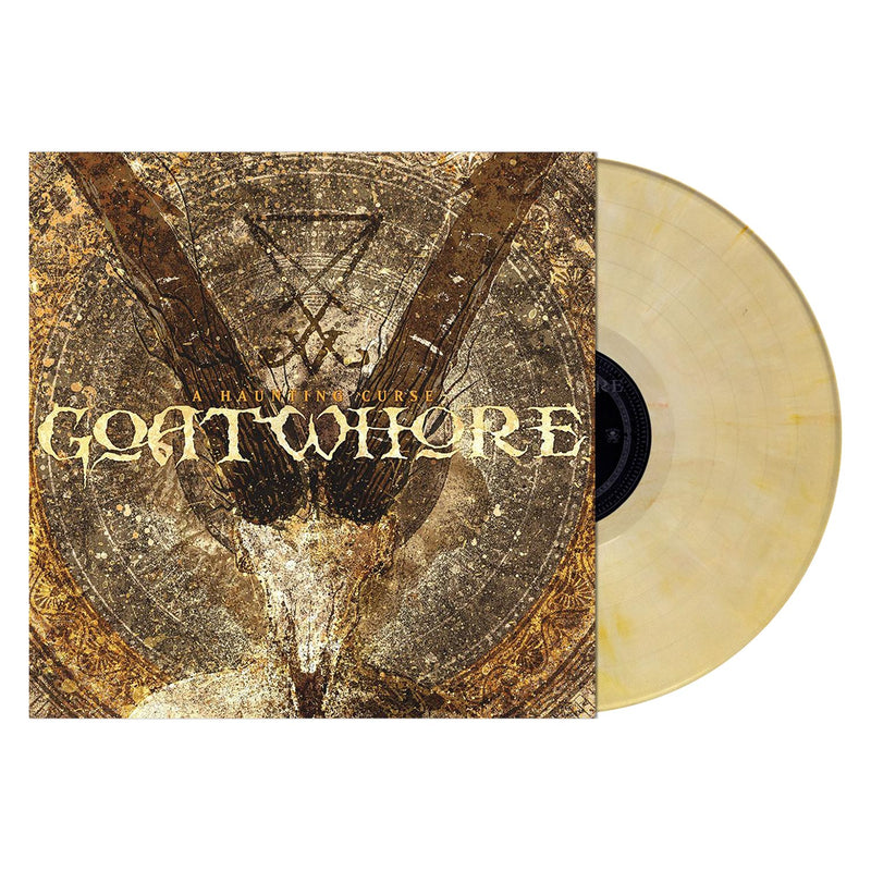 GOATWHORE 'A HAUNTING CURSE' BUTTER CREAM MARBLED LP