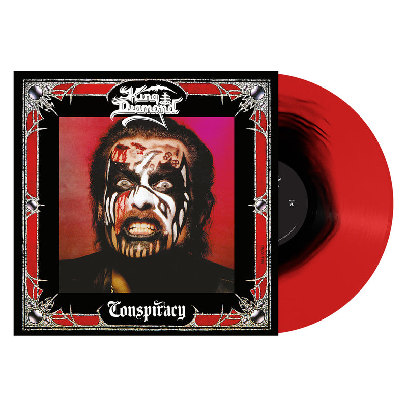 KING DIAMOND 'CONSPIRACY' - RED WITH BLACK HAZE LP