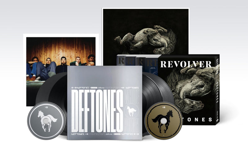 DEFTONES - 'WHITE PONY|BLACK STALLION' DELUXE BOX WITH MAGAZINE BOX AND LIMITED EDITION PRINT