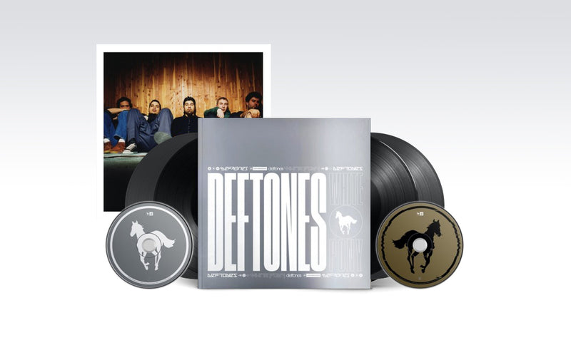 DEFTONES - 'WHITE PONY|BLACK STALLION' DELUXE BOX WITH MAGAZINE BOX