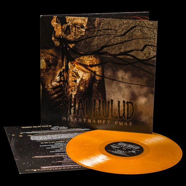 SHAI HULUD 'MISANTHROPY PURE' LP ORANGE VINYL