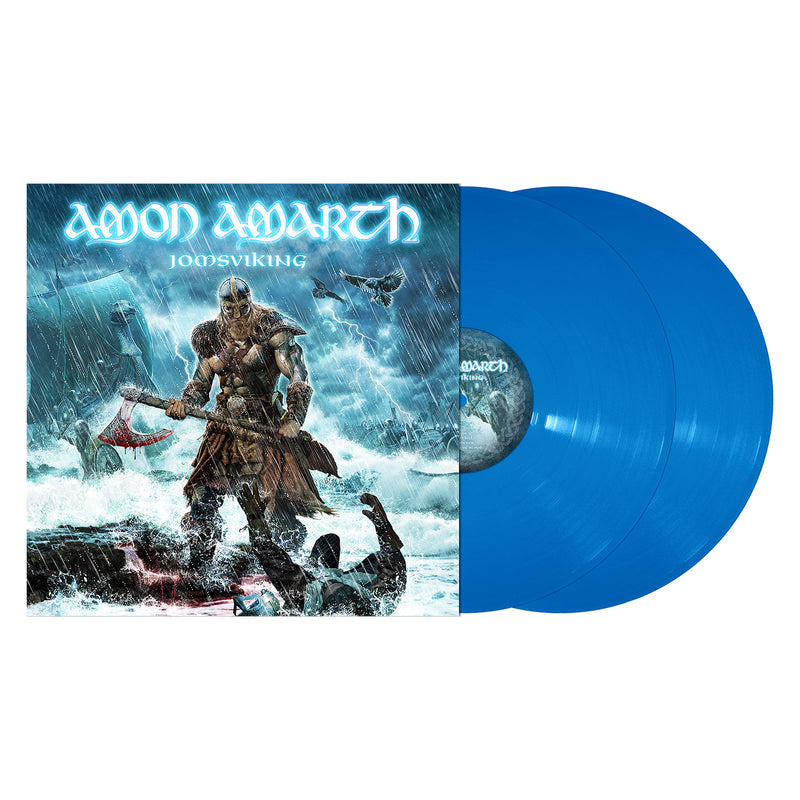 AMON AMARTH 'JOMSVIKING' BLUE 2xLP