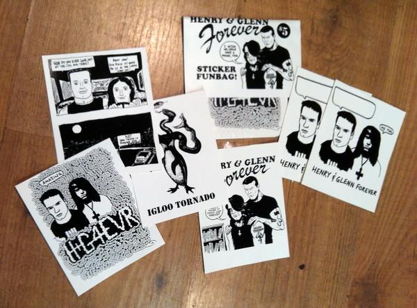 HENRY & GLENN FOREVER STICKER PACKS 1 & 2