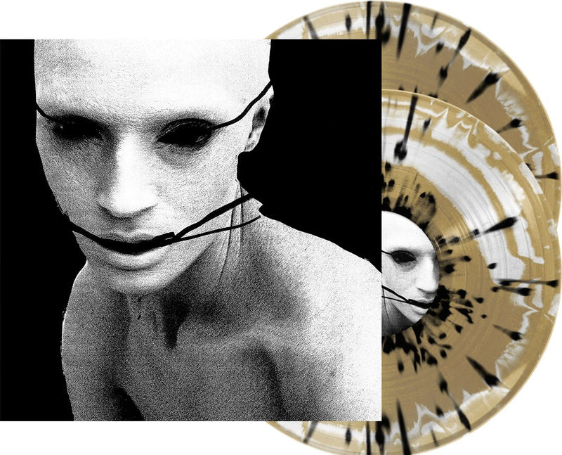POPPY 'I DISAGREE (MORE)' LIMITED-EDITION GOLD & WHITE WITH BLACK SPLATTER 2LP— ONLY 666 MADE