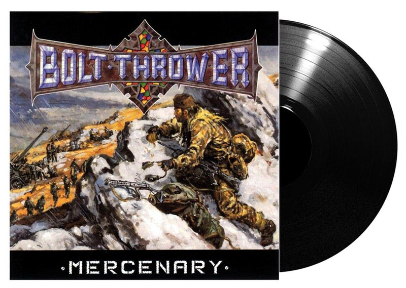 BOLT THROWER 'MERCENARY'LP