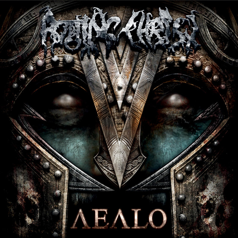 ROTTING CHRIST 'AEALO' LIMITED EDITION COKE BOTTLE GREEN 2LP