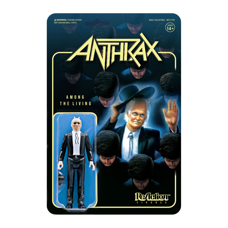 ANTHRAX REACTION FIGURE - AMONG THE LIVING