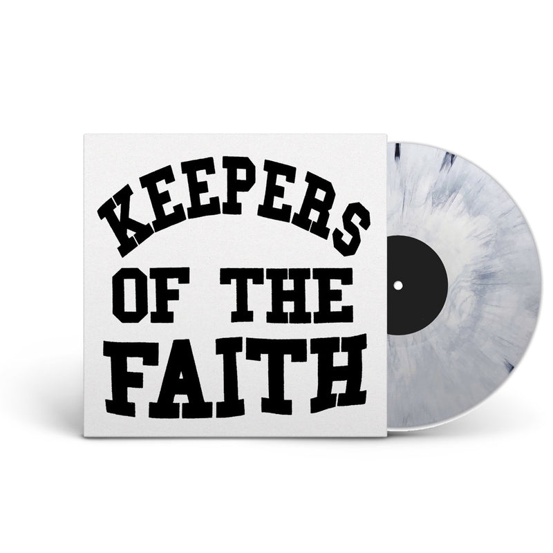 TERROR 'KEEPERS OF THE FAITH' LIMITED-EDITION BLACK & WHITE VINYL— ONLY 200 MADE