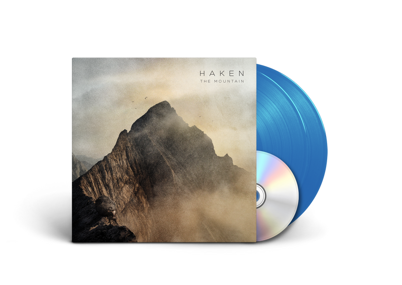 HAKEN 'THE MOUNTAIN' LIMITED-EDITION SKY BLUE 2LP — ONLY 200 MADE