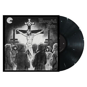 MERCYFUL FATE 'NUNS HAVE NO FUN' BLACK WITH WHITE MARBLE EDGE LP