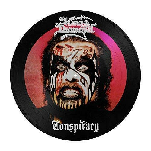 KING DIAMOND 'CONSPIRACY' LIMITED EDITION PICTURE DISC
