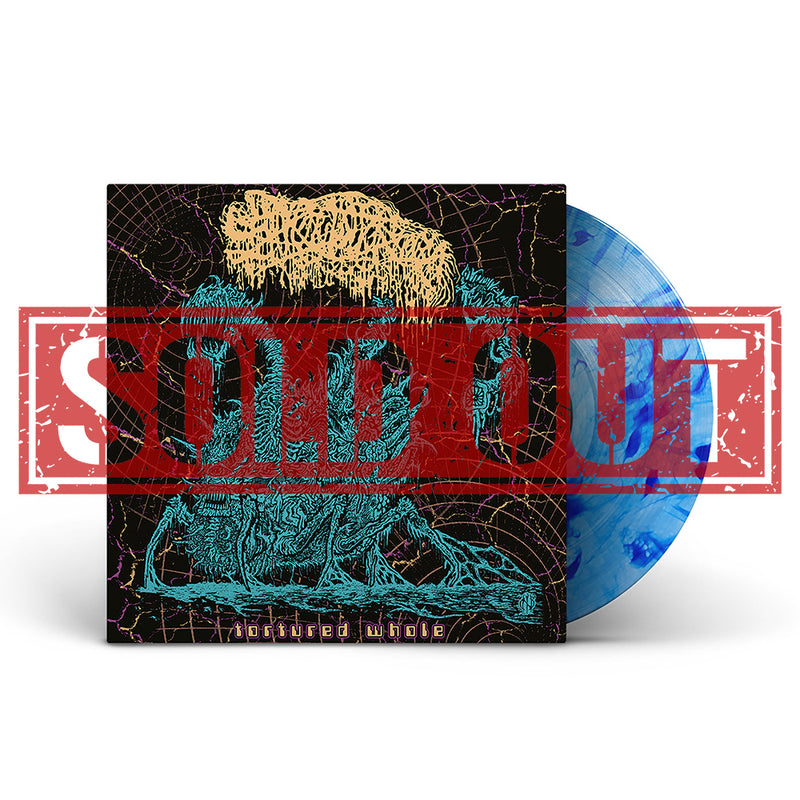SANGUISUGABOGG 'TORTURED WHOLE' LIMITED-EDITION BLUE BURST LP — ONLY 200 MADE