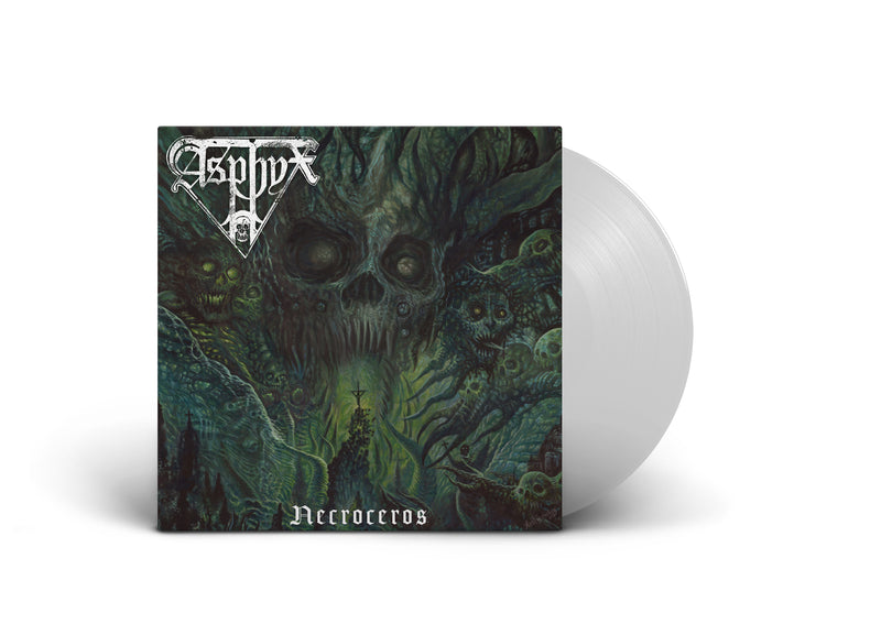 ASPHYX 'NECROCEROS' LIMITED-EDITION WHITE VINYL — ONLY 200 MADE