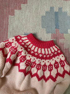 Cotton Yoke Sweater