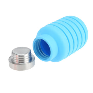 20oz Portable Silicone Water Bottle Retractable