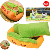Hot Dog Bed For Pets