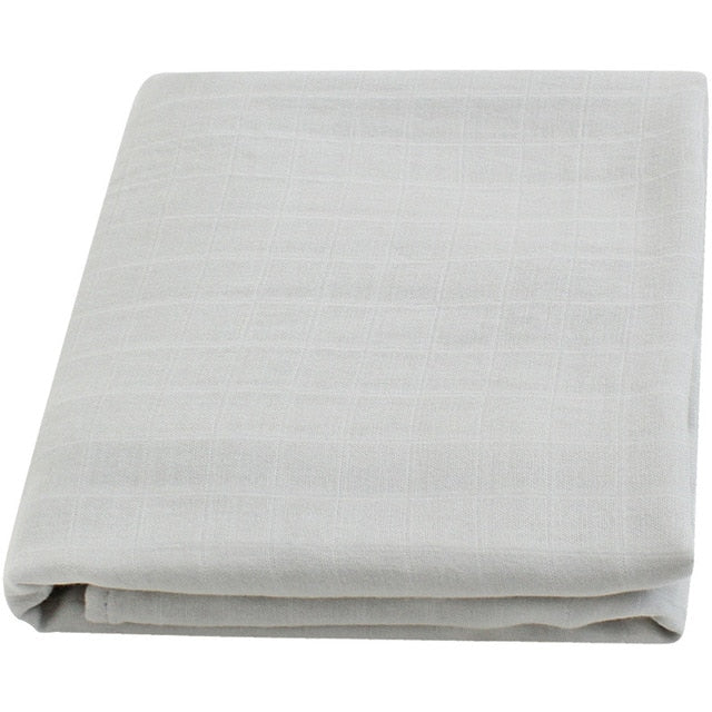 Bamboo Muslin Baby Swaddle Blanket In Dawn