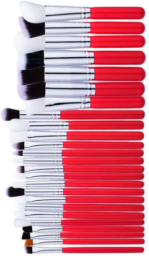 Set 25 Brochas de Maquillaje Mini Ideal para Bolso