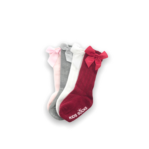 Baby Girl Knee High Socks (4 Pairs)