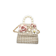 Load image into Gallery viewer, Beige Linen Purse