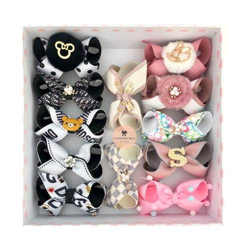 Gift Box C - 12 Hairbows